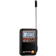 Мини-термометр Testo с проникающим зондом и сигналом тревоги