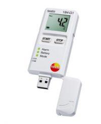 testo 184 G1 - Логгер данных температуры, влажности и ударной нагрузки