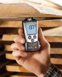Карманный строительный влагомер Testo 606-2 для древесины бесконтактный