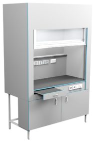 Шкаф вытяжной без сантехники ШВ НВК 1500 МОН (1500x716x2200)