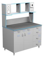 Стол пристенный для работы стоя СЛП НВК 1200 ПП (1218x700x1600)