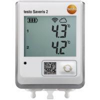 Testo Saveris 2-T2 - WiFi-логгер температуры c двумя разъёмами для внешних зондов NTC или дверных контактов (0572 2032)