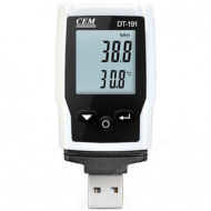 Логгер температуры и влажности CEM DT-191A