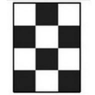 Шахматная доска для определения укрывистости 90х120 мм