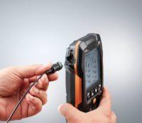 testo 550s Комплект 3 с заправочными шлангами - Умный цифровой манометрический коллектор, смарт-зонды зажимы температуры и набор из трёх заправочных шлангов (0564 5503)